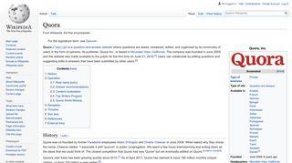 Quora - Wikipedia