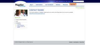 RADMD | Contact Us