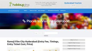 Ramoji Film City Hyderabad, timings, entry ticket cost, price, fee ...