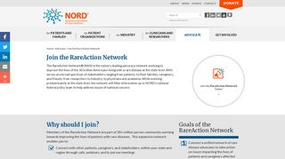 Join the Rare Action Network - NORD (National Organization for Rare ...