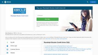 Randolph Brooks Credit Union (RBFCU): Login, Bill Pay, Customer ...