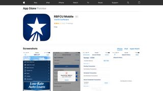 RBFCU Mobile on the App Store - iTunes - Apple