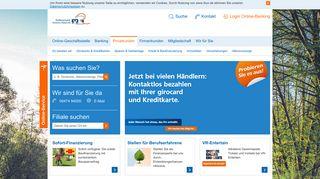 Raiffeisenbank Unteres Vilstal eG Privatkunden