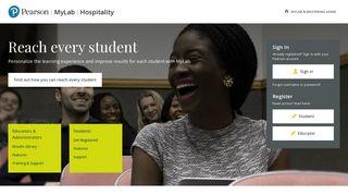 MyLab Hospitality | Pearson