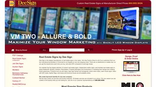 Real Estate Signs, Open House Signs, For Sale Signs   Dee Sign®