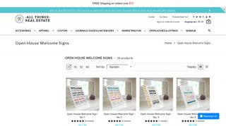 Open House Welcome Signs   All Things Real Estate