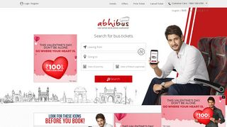 Online Bus Ticket Booking - Get Upto Rs.100 Off + Rs.1000 Cash Back ...