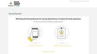 Renault Financial Services - Account Services - WesBank