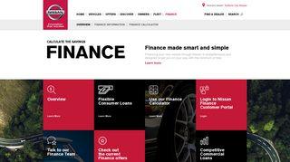 Nissan Finance   Nissan Australia