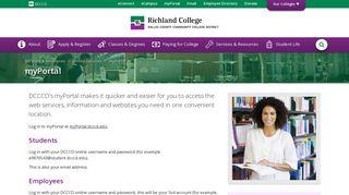 myPortal : Richland College