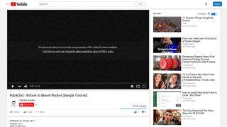 Robik(Ex) - Bitcoin to Bkash/Rocket (Bangla Tutorial) - YouTube