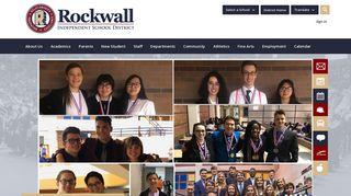 Rockwall ISD / Homepage