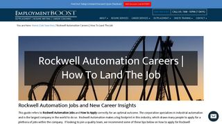 Rockwell Automation Careers | How To Land The Job | Employment ...