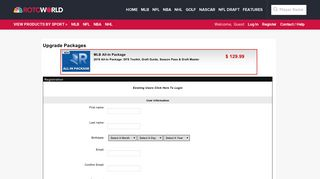 Rotoworld Store - Secure