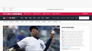 Fantasy Baseball news and analysis, draft guide ... - Rotoworld