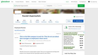 Roundy's Supermarkets - This is a horrible company to work for. They ...