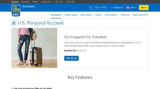 U.S. Personal Banking Account - RBC Royal Bank