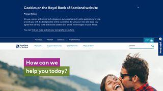 Royal Bank of Scotland Online – Bank Accounts, Mortgages, Loans ...