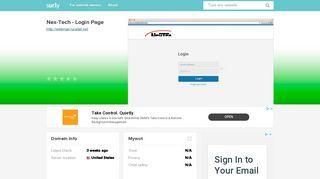 webmail.ruraltel.net - Nex-Tech - Login Page - Webmail Ruraltel