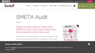 SMETA Audit | Sedex