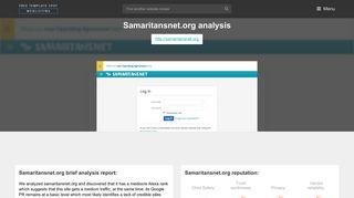 Samaritansnet. Log In - Samaritansnet - Popular Website Reviews