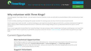 Volunteer – Three Rings
