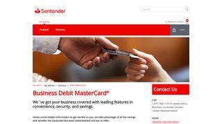Debit MasterCard   Santander Bank