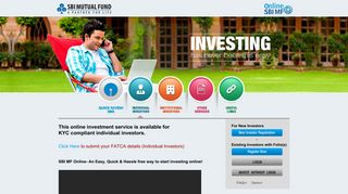 Invest Online in Mutual Funds | Online SBI MF | Indiavidual Investors ...