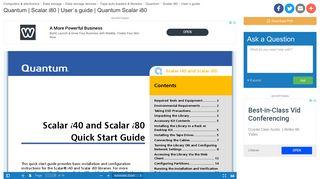 Quantum Scalar i80   manualzz.com
