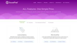 Pricing - ScootPad: Delivering personalized, mastery-based learning ...