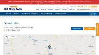 Connellsville PA Community Bank   Scottdale Bank & Trust, a Division ...