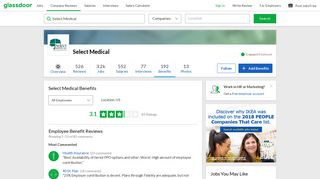 Select Medical Employee Benefits and Perks | Glassdoor