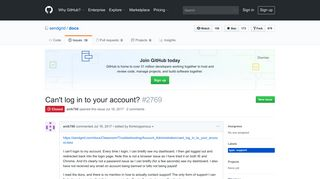 Can't log in to your account? · Issue #2769 · sendgrid/docs · GitHub