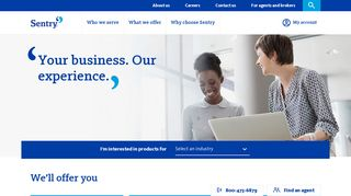 Sentry Insurance: Commercial and small business insurance