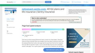 Access retirement.sentry.com. 401(k) plans and life insurance - Accessify