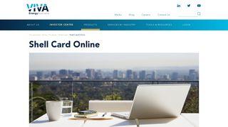 Shell Card Online - Viva Energy Australia
