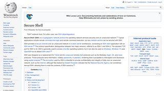 Secure Shell - Wikipedia