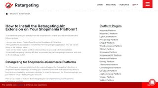 Shop Mania abandoned cart tool | Conversion Rate Optimizer