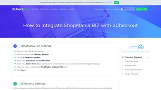 ShopMania BIZ Shopping Cart | Payment Gateway Integration ...