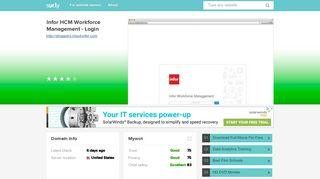 shoppers.cloud.infor.com - Infor HCM Workforce Management ... - Sur.ly