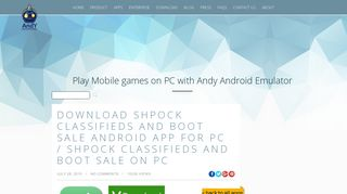 Download Shpock Classifieds and Boot Sale Android App for PC ...
