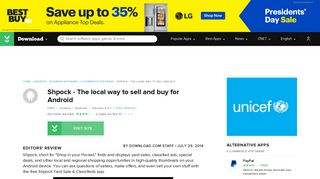 Shpock - The local way to sell and buy for Android - Free download ...