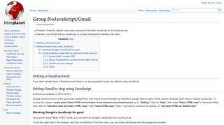 Group:NoJavaScript/Gmail - LibrePlanet