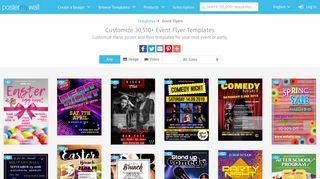 Customize 27,310+ Event Flyer Templates   PosterMyWall