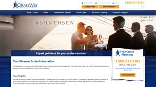 Already Booked - Silversea Cruises: Tickets, Pre-registration, Travel ...