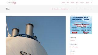 At your service: Silversea Cruises 'My Silversea' portal   Cruise Buzz