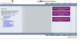 SJECCD myWeb Information Center