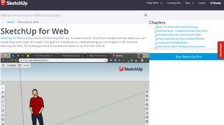 SketchUp for Web | SketchUp Help
