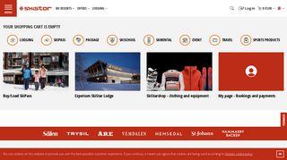 Online Booking - Skistar