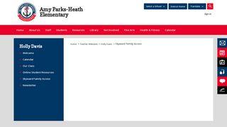 Holly Davis / Skyward Family Access - Rockwall ISD
